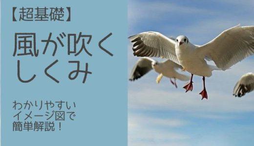 【超基礎】風が吹くしくみ~わかりやすいイメージ図で簡単解説!
